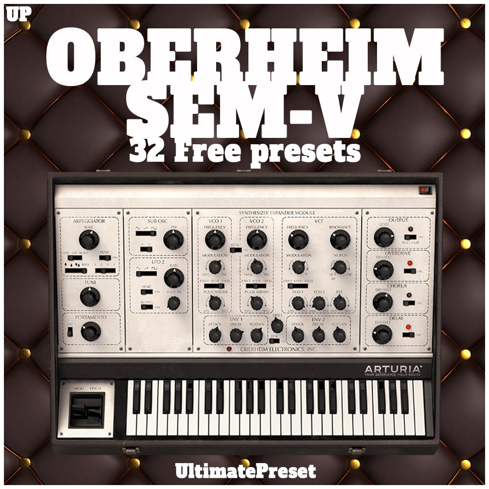 Oberheim Sem-V Free Arturia Soundbank - Ultimate Preset