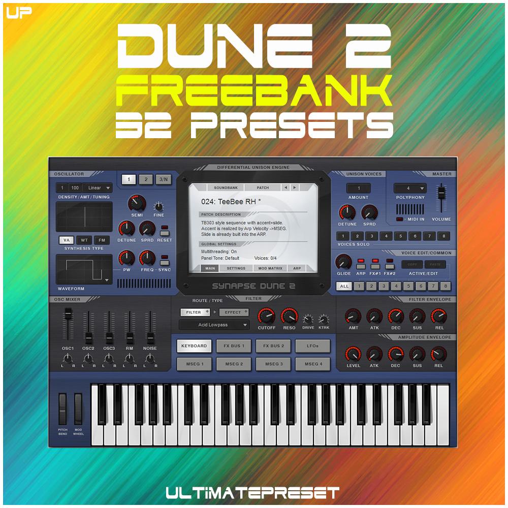 Dune 2 freebank 32 presets - Ultimate Preset