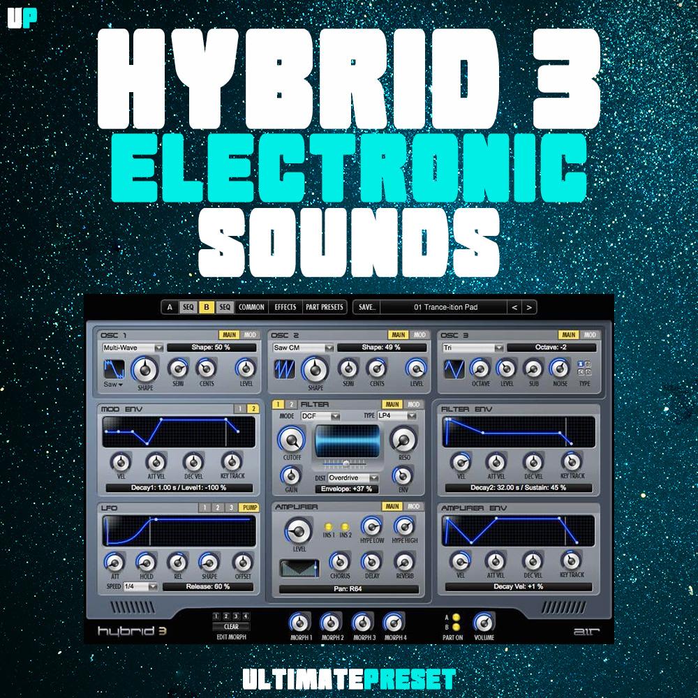Hybrid 3 Electronic sounds